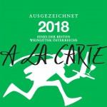 A La Carte 2018