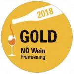 Gold NÖ Wein Prämierung 2018